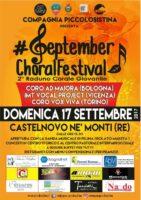 Locandina September Choral Festival 2017